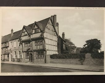 Vintage postcard - Nash's House New Place Museum (Shakespeare, Stratford on Avon)
