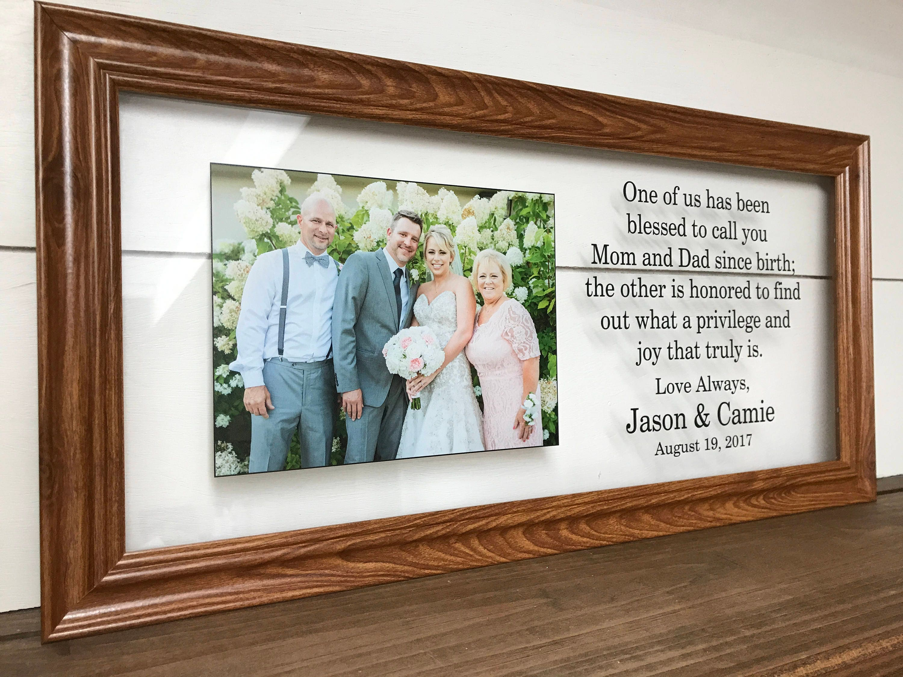 Parent wedding gift parents of the bride gift parents of the zoom junglespirit Choice Image
