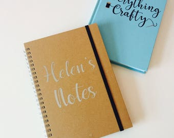 A5/A6 Personalised Notebook