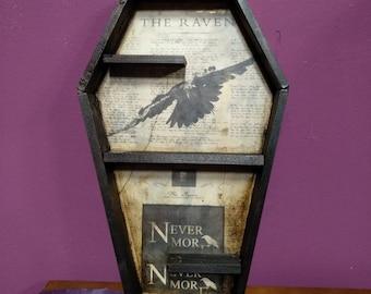 Coffin Shelving: The Raven