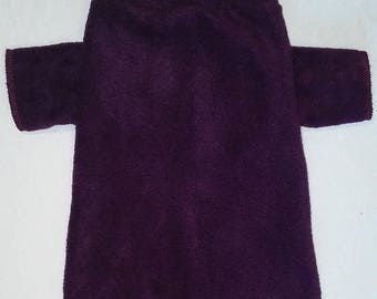 Blackberry Wine Fleece Long Sleeve Shirt Large Breed Dog Shirt size XXL