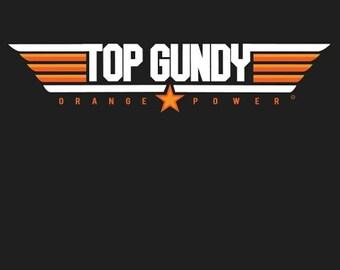 "T-shirt ""Top Gundy"" by Oklahoma Cherokee Artist Bryan Waytula"
