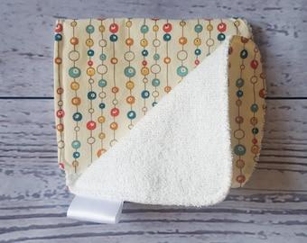 FIVER FRIDAY, White Burp Cloth, Newborn Gift, Organic Baby Gift, Baby Girl Gift, Baby Boy Gift, New Baby Gift, Baby Shower gift