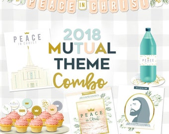 2018 Youth Theme COMBO package – Peace in Christ (PDF Downloads)