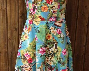 Victoria Fit and Flare Style Dress Size 8