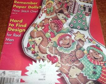 The Cross Stitcher Magazines December 2001, August 2005, April 2006