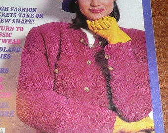 Vintage  McCall's Needlework & Crafts Magazine August 1987