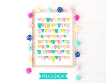 Girls printable art, girls nursery print, girls printable, girls wall art, girls printable wall art, girls posters, children's printables