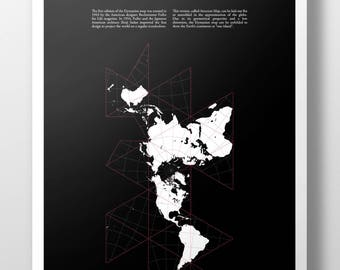 Dymaxion Projection Poster