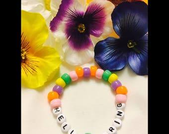 HELLO SPRING bracelet!