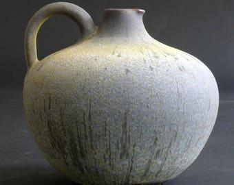 studio pottery vase - wonderful colors - amazing glaze - PAUL ZIPPMANN - Model-Number 505 - studio pottery workshop 1954-1959 - signed ZIPPA