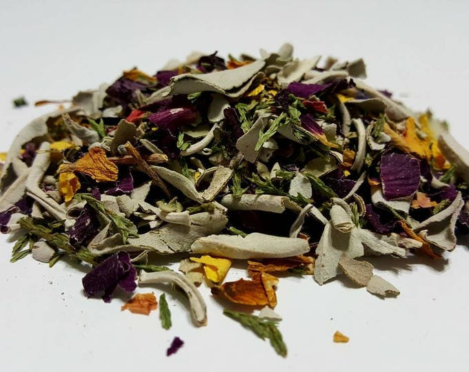 Smudging Botanical Incense Blend - Renewal and Protection