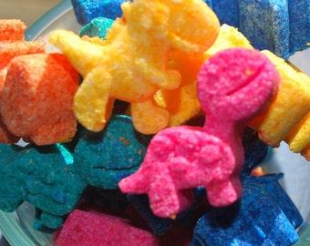 10 Mini Dinosaur Bath Bombs, bath bomb, bath bombs for kids, kids bath bomb, dinosaur, fizzie, fizzy, bath, sale