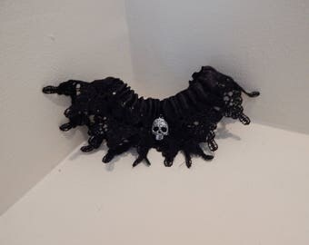 Tempie's Gothic Garters- Sugar Skull