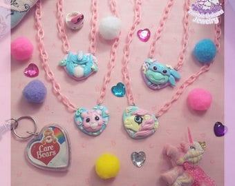 80's Cartoon Nostalgia necklaces fairy kei pop kei kawaii pastel