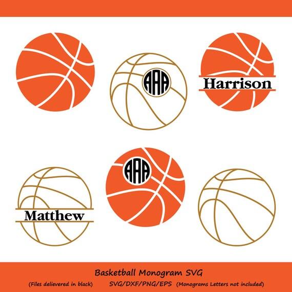 basketball svg files basketball monogram svg basketball cut