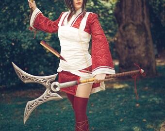 Blood moon Akali League of Legends Cosplay Kostüm
