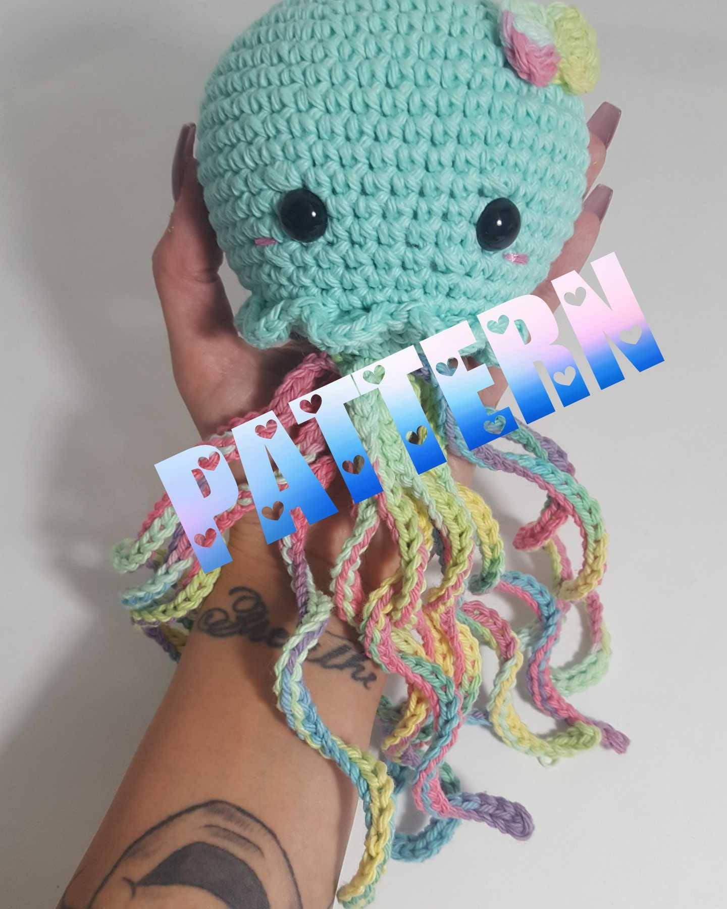 Kawaii jellyfish pattern crochet jellyfish pattern amigurumi zoom bankloansurffo Choice Image