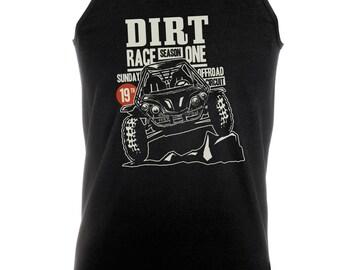 Dirt Race - Mens Tank Vest
