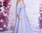 "FeePle65 ""Lady of the Spring Flowers"" medieval dress (outfit for FeePle65 lady and similar)"