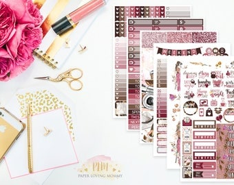 Free Spirit Kit | Fall Stickers | Weekly Kit | Autumn Kit | Planner Stickers designed for use with the Erin Condren Life Planner