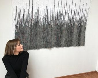 wall tapestry, textile wall art, woven wall decor, woven wall hanging, housewarming gift, macrame wall hanging, wedding backdrop, boho decor