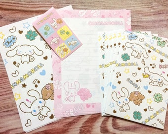 Cinnamoroll and Clovers Letter Set