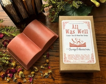 All Was Well Bar Soap - Book Inspired Natural Soap