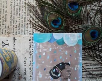 Postcard illustration children