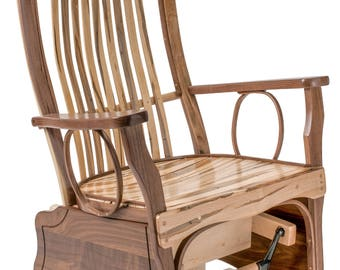 Maple Rocking Chair Etsy