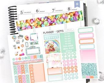 Sugar Rush Pocket TN / Personal Weekly Planner Kit | ~100 Stickers | Planner Stickers | For TN / Personal Planners
