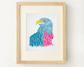 Eagle art, Eagle art print, Eagle wall art, American eagle art, Eagle wall decor, Eagle print, Patriotic art, American eagle, bald eagle art