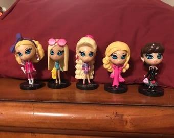 Tokodoki Barbie Figurines