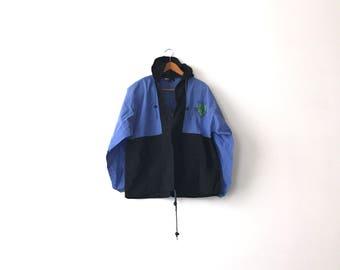 90s 'Bleu Ice' Windbreaker Jacket - S