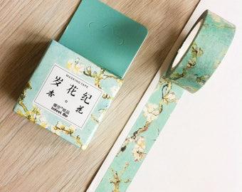 Cute washi tape - Van Gogh's flowers - infeel me | Cute Stationery