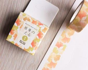 Cute washi tape - ginkgo leaves - infeel me | Cute Stationery