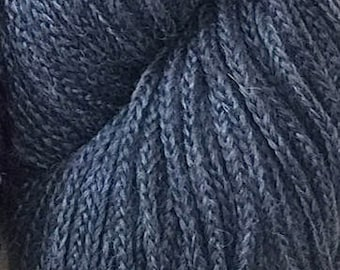 Mirasol SISA +Free Patterns 9.25+.99ea to Ship Merino Wool Baby Alpaca Yarn - 13 WOODSTONE Lot 173139 - Blue Steel - So Soft! MSRP 11.95