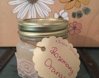Rosemary Orange Sugar Scrub