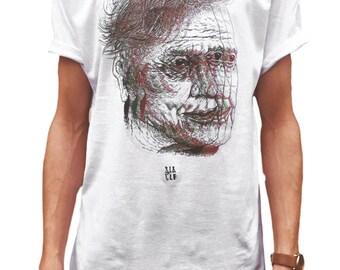 David Attenborough, David Attenborough T-Shirt, Indie T Shirt, Alternative T-Shirt, Men's Indie Clothing, Men's Tumblr Tee, Sloclo, Glitch