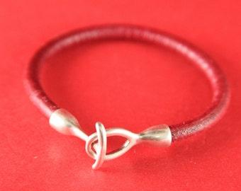 4/2 MADE in EUROPE zamak hook clasp, round cord clasp, 5mm cord clasp, bracelet zamak hook, zamak clasp (ng0093-027) Qty1