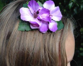 for bridal, bridesmaid tones purple hair accessories hair comb