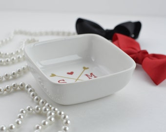 Personalized Ring Dish -  Gift -  Ring Dish