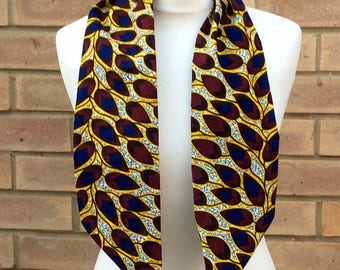 African print head wrap,African print scarf, wax print accessories