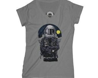 Astronaut t-shirt punk t-shirt space t-shirt adventure t-shirt UFO t-shirt alien t shirt hipster t-shirt    AP57