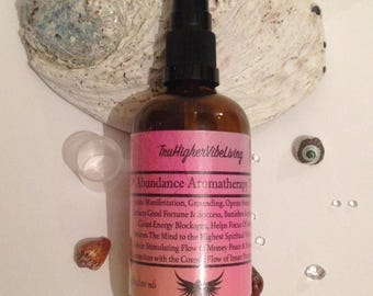 Abundance Aromatherapy Massage Oil