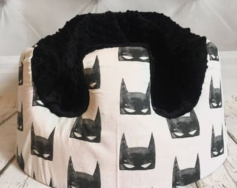 Batman Mask Black Bumbo Cover