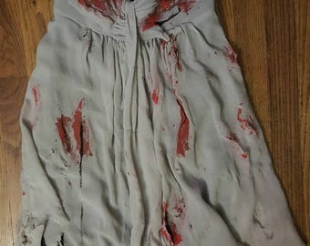 Gory Zombie Prom Queen Costume Size 2 OOAK