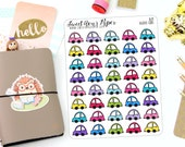 Car Planner Stickers - Icon Planner Stickers - Trip Planner Stickers - Doodle Car Planner Stickers - Functional Stickers - 1629