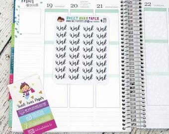 Work Planner Stickers | Script Planner Stickers | Work Planner Stickers | Planner Stickers | Fits Most Planners | 255