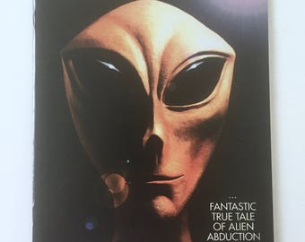 UFO Abduction Comic, Beyond Communion, Issue 1, Caliber Comics, Signed by Writer Martin Powell, Alien Abduction by Whitley Strieber